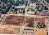 Downtown Redevelopment, Sterling, Illinois, Aerial View