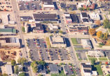 Sterling, Illinois Street scene, Aerial view