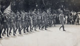World War, 1914-1918, Sterling, Illinois, Military parades