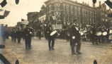 World War, 1914-1918, Sterling, Illinois, Military parade