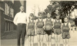 Schools, Sterling, Illinois, Union, 1892-1946,  Basketball