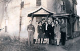 Photograph of Towanda girls with Rantoul boys in May, 1940