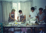 Photograph of July 3rd Towanda Homemakers Extension Association Spaghetti Supper.