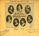Newspaper photograph of Towanda High School Graduates  - 1931