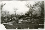 Photograph of 1901 Tornado at Fletcher