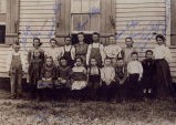 Photograph of Ballard School class of 1906