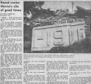 1982 Newspaper article on Merna Community Center