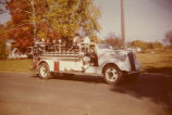 1950 Photograph of Towanda fire engine