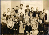 Photograph of Burfield School 1904 Class