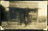 Photograph of Macy Drug Store in Towanda in 1906