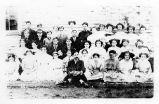 Postcard of the Towanda High School Graduating Class of 1910