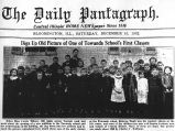 Newspaper article on Towanda School class of 1890