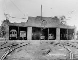Urbana and Champaign Railway, Gas, and Electric Co. streetcar barn