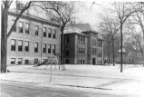 Wilmette School and Central School in 1948