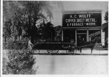 A. C. Wolff, Copper, Sheet Metal, Furnace Work