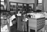 Carnegie Library of Wilmette Children's Room with patrons