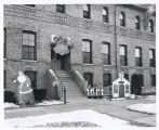 Christmas Decorations on Barracks, Fort Sheridan