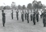 Marching Band in Fatigues, Fort Sheridan