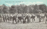 Cavalry Troop at Rest, Fort Sheridan, Ill.