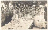 Co. B 112th Engineers Farewell Dinner, Ft. Sheridan, Ill. Sept. 29-1917