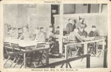 Penmanship Class, Educational Dept., Bldg 81, Fort Sheridan, Ill.