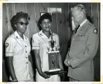 Volleyball Trophy Presentation.  92.24.2056