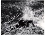 Machine Gun in Action, Ft. Sheridan, ILL.  92.24.2132
